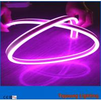 Wholesale purple bendable 12v red double side neon led flex light for outdoor from china suppliers