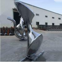 Wholesale High Polished Abstract Steel Sculpture Stainless Decorative Art Garden from china suppliers