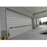 Wholesale Large size single sheet overhear door with full aluminum panel can be customized from china suppliers