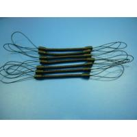 Wholesale Black Plastic Safe Mini Spiral Elastic Pen Tethers Cord w/String Loop Ends from china suppliers