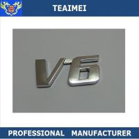 Wholesale Professional Normal Size V6 Custom Car Emblem Letters 5-8 Years Use Life from china suppliers