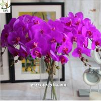 Wholesale UVG Latex high quality artificial flowers orchid for wedding decoration table centerpiece from china suppliers
