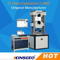 Wholesale 80mm/min Electro Hydraulic Servo Function Universal Testing MachineS Computerized from china suppliers
