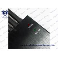 Wholesale High Power GPS Jammer Wall Plug Power Source 5 Band Working Separately / Simultaneously from china suppliers