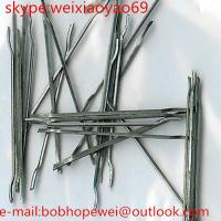 Wholesale steel fiber for concrete reinforcement >1100 mpa from china suppliers