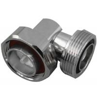 Buy cheap RF coaxial 7/16 din male to 7/16 din female right angle IBS Components connector from wholesalers