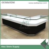 Jewelry shop showcase wooden furniture showcase China supplier glass display furniture
