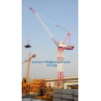 Buy cheap 6t Load Luffting Tower Crane D4015 Top Slewing Type 40mts Lifting Jib from wholesalers