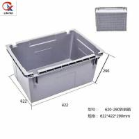 Wholesale Durable and stack nest  EU type Plastic Bale Arm Crates with handle for fruits and vegetables from china suppliers