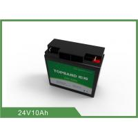 Wholesale Long lifespan Deep Cycle Lithium Battery 10Ah / 24V LifePO4 Battery Light weight from china suppliers