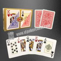 Wholesale Modiano Plastic Playing Cards / Golden Trophy Casino Cards For Texas Poker from china suppliers