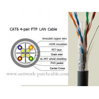 Wholesale Stranded Data Cat6 FTP Cable 4 Pair Lan Cable Cat6 Outdoor Ethernet Cable from china suppliers