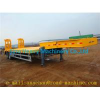 Wholesale 2 A X LES EQUIPMENT LOW BED TRAILER  28T Single speed from china suppliers