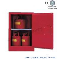 Wholesale Chemistry Combustible Liquid Storage With Single Manual Door , Petrol Storage Cabinets from china suppliers