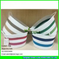 Wholesale LUDA small custom fabric bag colorful sewing coil rope basket from china suppliers
