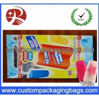 Wholesale Custom Plastic Food Packaging Bags Exquisite , Summer Popsicle Lolly Bags from china suppliers