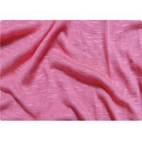 Wholesale Pink / White Viscose Fabric Furniture Upholstery Fabric For Sportswear from china suppliers