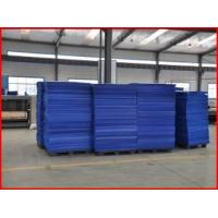 Wholesale Color Water Resistant Corrugated Plastic Board , Recyclable 4mm Corrugated Plastic Sheets from china suppliers