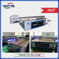 Buy cheap High resolution digital ceramic tiles printing machine digital inkjet ceramic uv flatbed printer from wholesalers