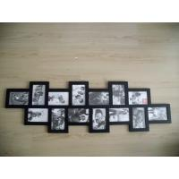 Wholesale Home Decor 14 Openings Decorative Black Plastic Wall Collage Picture Photo Frame from china suppliers