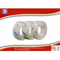 Wholesale 12mm Clear Adhesive BOPP Sticky Stationery Tape For Office & School Use from china suppliers