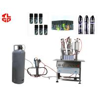 Wholesale 3 In 1 Aerosol Body Spray Filling Machine , Deodorant /  Perfume Filling Machine from china suppliers