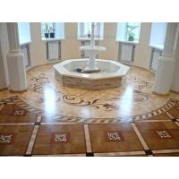 Wholesale laser cut oak hardwood floor medallion parquet and borders from china suppliers