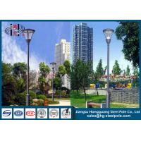 Wholesale Hot Roll Steel Q235 Powder Coated RAL Outdoor Street Lamp Post 6 - 12m from china suppliers