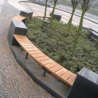 Quality WPC Park Benches, Suitable from -40 to +60°C Temperature, Available in Various Colors for sale
