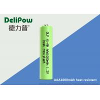 Wholesale Professional 1.2 V Rechargeable Battery , 1000mAh Aaa Rechargeable Batteries from china suppliers