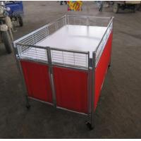 Wholesale Movable Supermarket Accessories Promotion Table Stand With Wheels For Retail Store from china suppliers