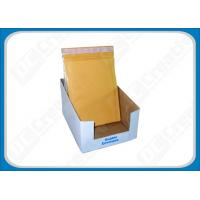 Kraft Bubble Envelopes For Retail Shops , Self Seal Bubble Mailers 4 × 6