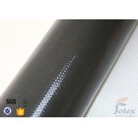 Wholesale Black Silicone Coated Fiberglass Fabric For Thermal Insulation Blanket from china suppliers