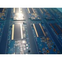 Matt Blue Solder Mask Double Sided PCB prototypes , pcb fabrication service