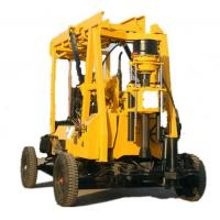Wholesale 100 Meters Water Well Drilling Rig, Crawler Core Drilling Machine from china suppliers