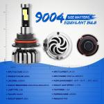 Wholesale COB Bulb Crystal Clear 6000K White Automotive Led Headlight Bulbs 9V - 36V from china suppliers