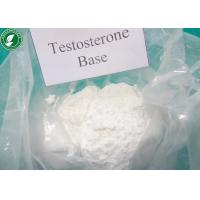 Wholesale Testosterone Base White Raw Steroid Powders for Male Bodybuilder , CAS 58-22-0 from china suppliers