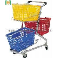 Wholesale Three Basket Shopping Trolley (MJYI-ST) from china suppliers