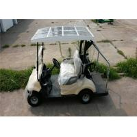 Wholesale Pure Electric 3KW DC Motor Electric Golf Car For 2 Persons With Solar Panel from china suppliers