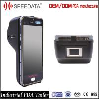 Wholesale Industrial Android Platform Biometric Fingerprint Scanner with Wireless Barcode Scanner from china suppliers