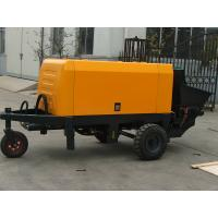 Wholesale 15-18m3/h trailer mounted concrete pump,concrete pumping machine from china suppliers