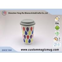 Wholesale Temperature Sensitive Printed Starbucks Ceramic Mug With Lid And Sleeve from china suppliers
