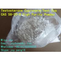 Wholesale USP Testosterone Cypionate Powder CAS 58-20-8 Test Cyp 250mg/ml from china suppliers