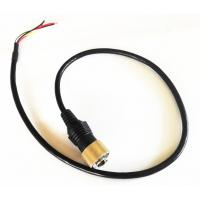 Wholesale Driving Safty Mini Din 6 PIN Connector Backup Camera Cable With Single shielding from china suppliers
