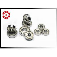 China 6000 Series Deep Groove Ball Bearings Chrome Steel High Temperature Resistance on sale