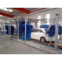 Wholesale Tunnel Car Wash Systems With Three Color Wax Spraying , Innovation Mode from china suppliers