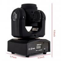 Quality Two Face 4*10W Wash LED Stage Light Moving Head With Master - Slave / Sound Control for sale