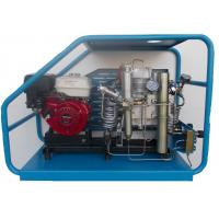 Wholesale Gas powered scuba reciprocating air compressor filling cylinders at home or in laboratory from china suppliers
