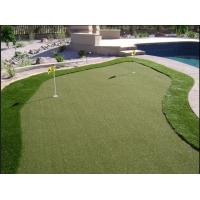 Quality 9000Dtex Field Green Playground Golf Artificial Grass 20mm,Gauge 1/5 for sale