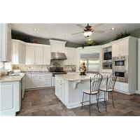 Wholesale Modern white shaker door wooden kitchen cabinet from china suppliers